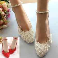 delicate lace flower handmade pearl chain high heels party wedding Wedding Shoes Handmade delicate lace flower handmade pearl chain high heels party wedding bridal shoes wedding shoes handmade