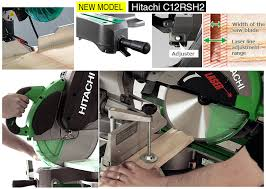hitachi c12rsh2. hitachi-c12rsh2-miter-saw-features-details hitachi c12rsh2 h