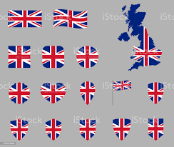İngiltere Bayrağı Simgesi Seti Ingiliz Ulusal Bayrağı Simgeleri Birleşik  Krallık Bayrağıunion Jack Stok Vektör Sanatı & Amblem'nin Daha Fazla  Görseli - iStock