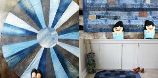 how to make a blue jean rug 9 unique ways