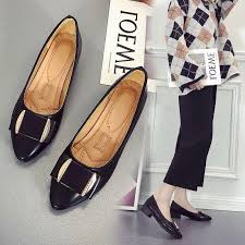 <b>Single Shoes Female 2019</b> Spring And Autumn New Korean#1901 ...