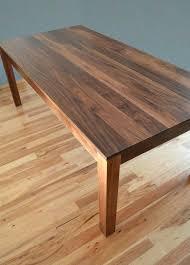 solid walnut dining table custom made solid walnut dining table by solid walnut dining table canada
