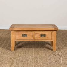evesham oak 2 drawer coffee table without shelf 00 a with drawers and 42002200 0 13935202