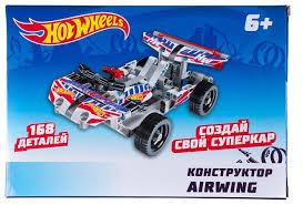 Винтовой <b>конструктор 1 TOY Hot</b> Wheels Т15405 Airwing ...