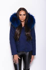 parka coat matching fur zoom