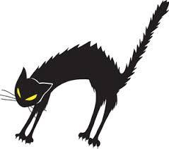 scared black cat clipart. Beautiful Clipart ScaredblackcatsilhouettebPVLILclipartjpg To Scared Black Cat Clipart L