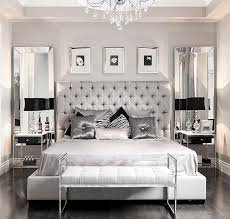 the_real_houses_of_ig: Glamorous bedroom decor via StalloneMedia   Metallics. That store has more metallics than any other store I know.  Metallic accents
