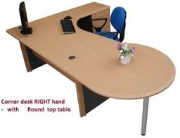 office corner desk. Image Is Loading Office-Corner-desk-R-with-4-drawer-amp- Office Corner Desk M