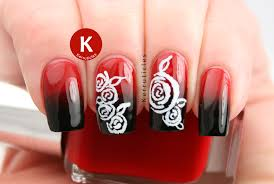 Week Of Love Valentine's Nail Art Challenge: Roses | Kerruticles