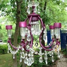 diy outdoor chandelier want to make one for my front porch solar powered chandelier how romantic