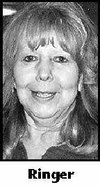 SHARON ELAINE RINGER, 64, died on Good Friday, April 2, 2010, at her home, ... - 0000808428_01_04042010_1