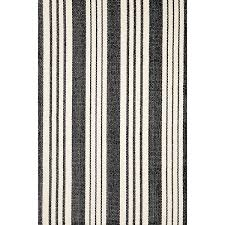 birmingham black woven cotton rug dash albert