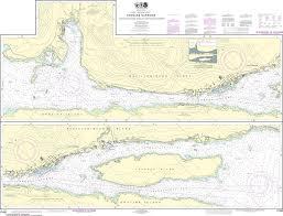 Southeast Alaska Nautical Charts Noaa Nautical Chart 17430 Tongass Narrows