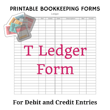 Bookeeping Ledger Bookkeeping Ledgers