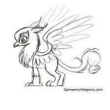 My Little Pony Gustave Le Grand Character Coloring Coloring Page