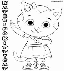 Daniel Tiger Coloring Pages At Getdrawingscom Free For Personal