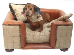 um size pink whiskers luxury bespoke pet beds leather dog lounge chair outdoor yorkshire dales oatmeal tweed c