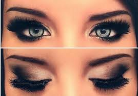 blue 3 brown mascara using brownish mascara on the sides of your lashes makes your eyes look smokey eye makeup