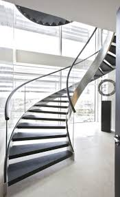 Decorations:Aesthetic Appeal Anyone Can't Ignore From Modern Spiral  Staircase Designs Classy Modern
