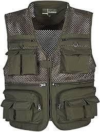 Flygo Mens <b>Summer</b> Outdoor Work Safari Fishing Travel Photo Vest ...