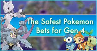 The Safest Pokemon Bets For Gen 4 Pokemon Go Wiki Gamepress