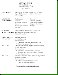 Targeted Resume Styles Do You Write Resume In Past Tense