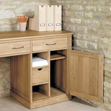 hidden home office. mobel oak large hidden office twin pedestal desk home a