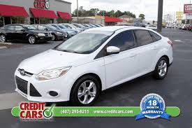 credit cars 1 here pay here used car orlando fl easy yes with bad credit 2016 ford focus