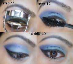 step 12 apply mascara and you are done