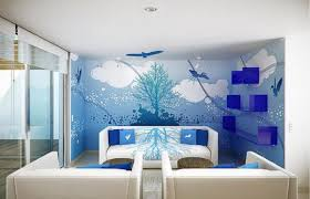 Paint Design For Living Room Walls Interior Outstanding Room Wall Designs For Classy Interior Styles