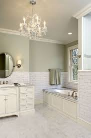 sage green bathroom paint. Suzie: Hendel Homes - Gorgeous Green Bathroom With Sage Paint Color, Subway Tiles Backsplash R