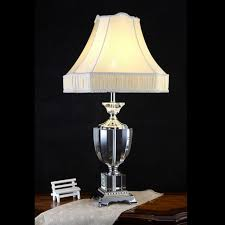 Hanlon E27 Schraubsockel Tischlampe Hotel Bedside Kristall Lampe