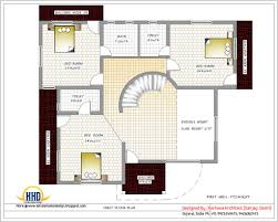 india home design with house plans 3200 sqft kerala design home