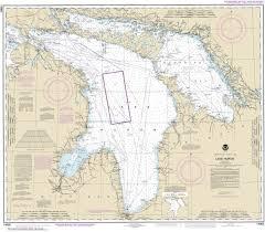 14860 Lake Huron Great Lakes Nautical Chart