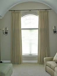 Image result for how to hang window treatment for window topped with  palladian?