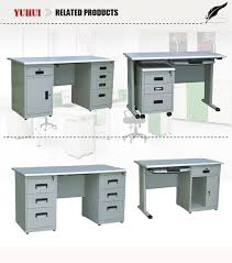 china computer desk with tempered glass tabletop and drawers with intended for computer desk with locking drawer