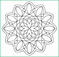 Free Online Mandala Coloring Pages Best Easy Mandala Coloring Pages