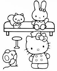 Gratis Hello Kitty Kleurplaten Page 19