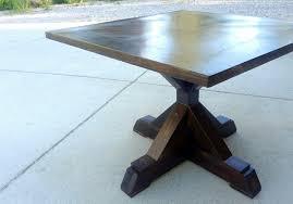 glossy black finishing wooden pedestal based for round