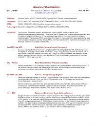 Resume Qualifications Example Berathen Com
