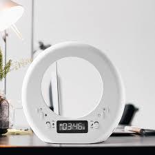 Light Up Moon Clock Wake Up Light Alarm Clock Led Moon Alarm Clock Usb