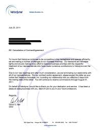 sample letter of cancellation of business contract how to write a termination write termination letter