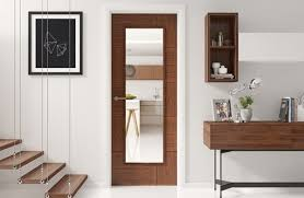 using darker timber doors to create the wow factor