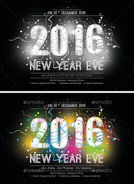 2016 New Year Flyer Template 1 By Kokk | Graphicriver