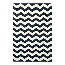 black and white chevron rug in a full target