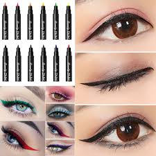 12 colors dnm makeup eyeliner pencil make up waterproof beauty easy wear pen eye liner long lasting cosmetics beauty eye pencil