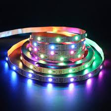 Programmable Color Changing Led Lights Amazon Com Xunata Individually Addressable Smart Strip
