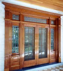 cherry and beveled glass entry custom doors pittsburgh cherry bevel custom entrance