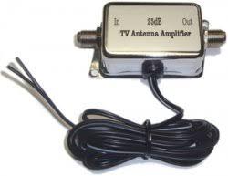 tv antenna booster. 12volt dc digital in-line tv antenna amplifier tv booster