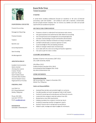 Inspirational Accountant Resume Format In Word Format Mailing Format